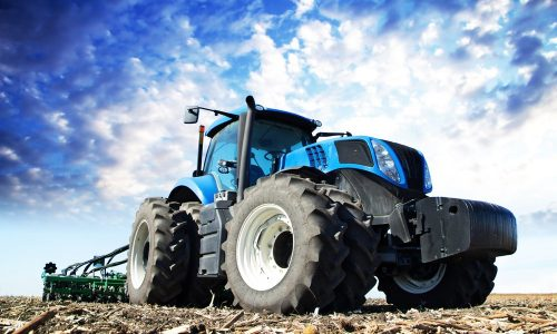 Commercial tractor photo